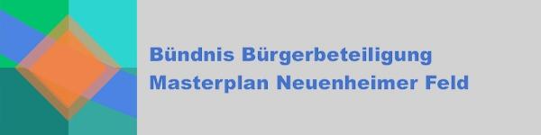 Logo Bündnis Bürgerbeteiligung Masterplan Neuenheimer Feld