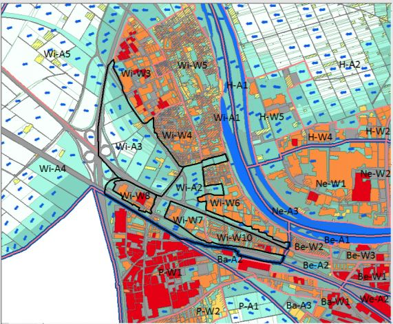 Ausgleichsräume und Wirkungsräume am Rittel, Anhang B des Stadtklimagutachtens von 2015